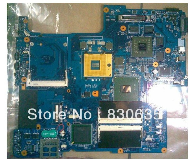 laptop motherboard MBX-156 50% off Sales promotion, only one month FULL TESTED,