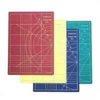 ПВХ A4 режущие коврики 30*22 см табличка для гравировки 4 цвета поделки, резиновая печать инструмент A4 двухсторонняя режущая пластина цвет можн...