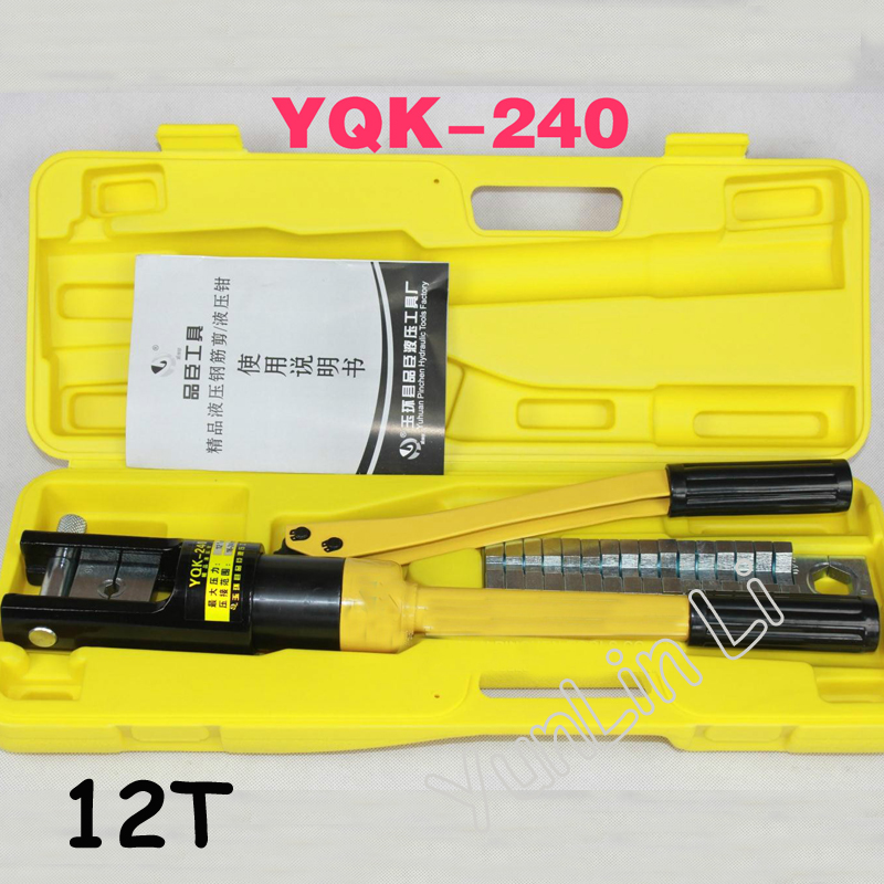 Hydraulic Crimping Plier Range Hydraulic Crimping Tool YQK-240 все цены