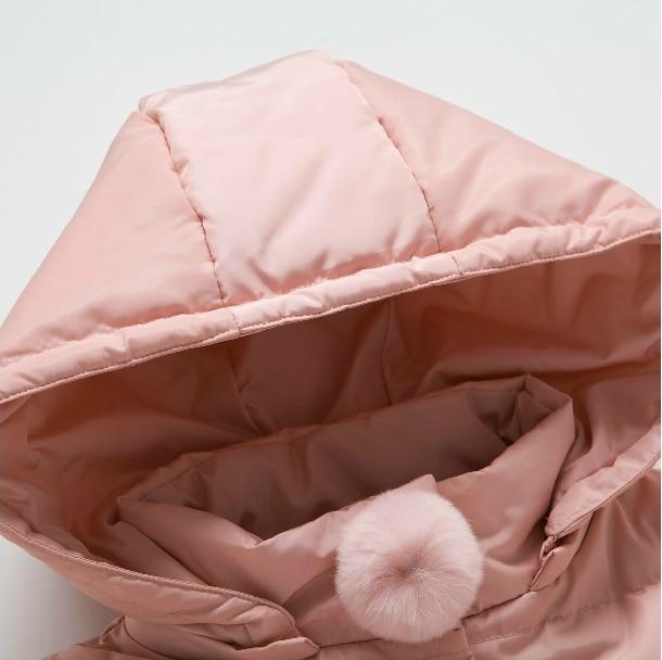 2018 Kalter Winter Warme Dicke Baby Kind Mädchen Kinder Hoody Lange - Kinderkleidung - Foto 4