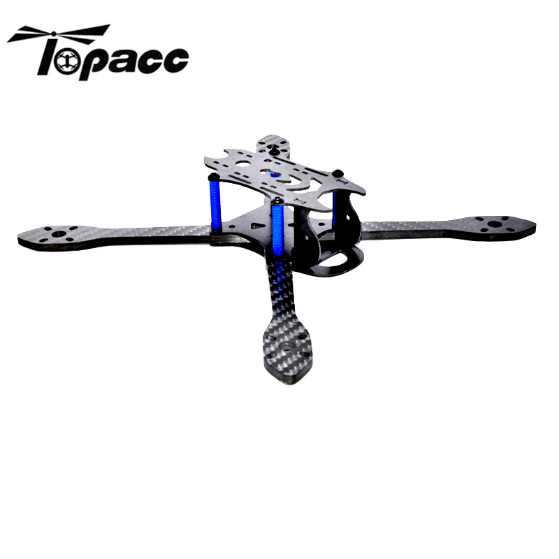 High Quality Bfight210 210mm Carbon Fiber FPV Racing X Frame Arm 4mm Frame Kits for RC helicopter Spare Parts