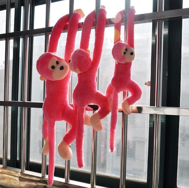 Image 2 - Новая милая плюшевая обезьянка с длинными рукавами-in Мягкие и плюшевые животные from Игрушки и хобби