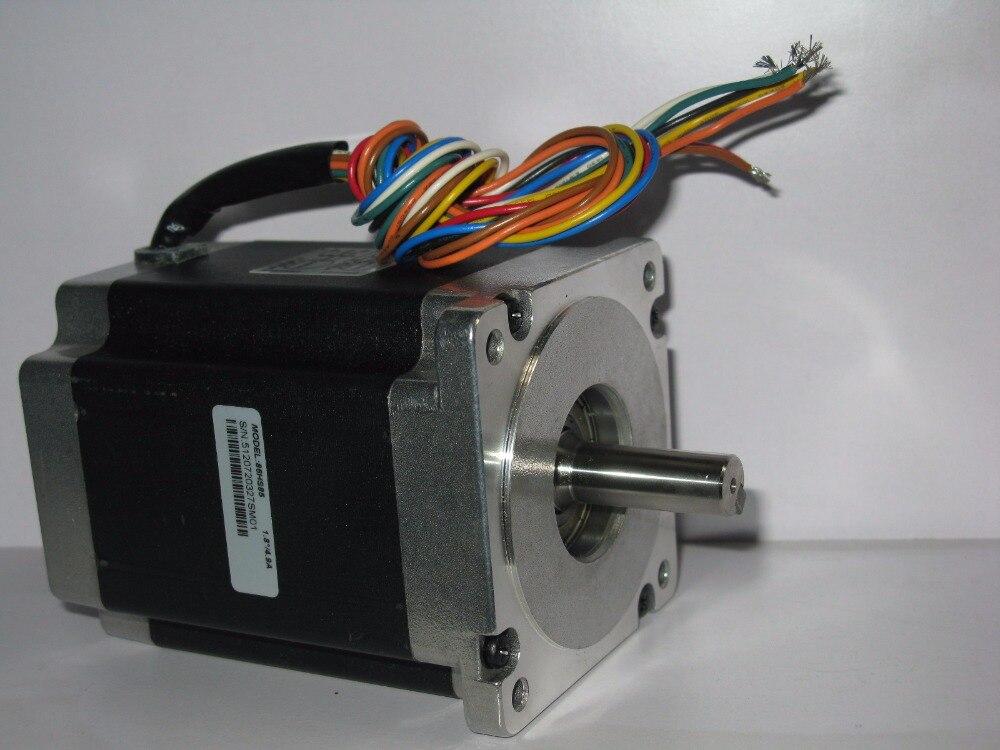 Leadshine 86HS85 2 Phase NEMA 34 Hybrid Stepper Motor 4.9 A length 118 mm