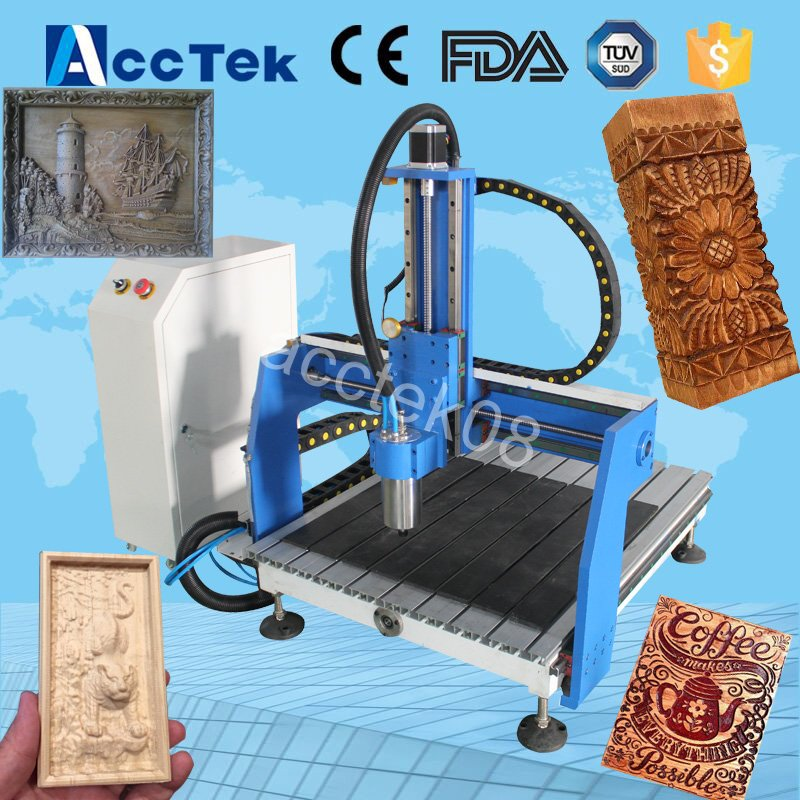 cnc milling machine wood/MDF/Plywood cutting machine 6040 mini 4 axis cnc router high steady cost effective wood cutting mini cnc machine milling
