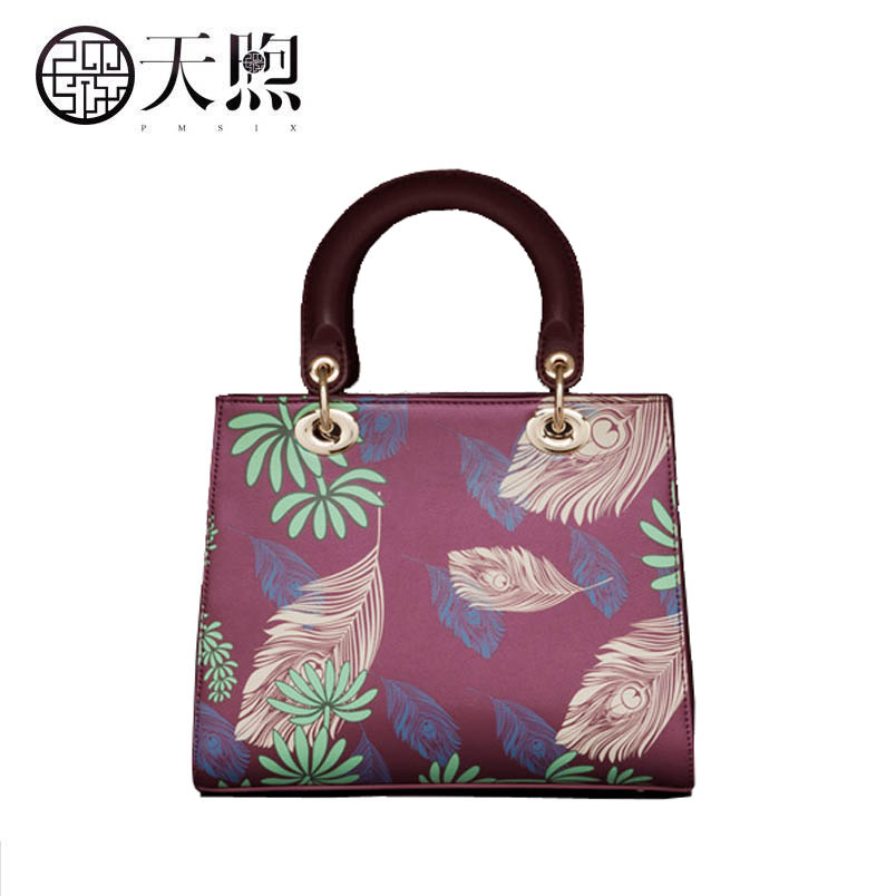 Vintage print crossbody bag female 2019 new national style embroidery temperament shoulder bagVintage print crossbody bag female 2019 new national style embroidery temperament shoulder bag