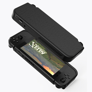 Image 2 - 10000mAh Battery Charger Case For Nintend Switch Console External Battery For Nintendo Switch Power Bank Leather Case For NS