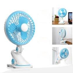 Portable USB mini fan Mini bed mute student hostel clip fan office USB electric fan table Wall hanging Table Folder fan