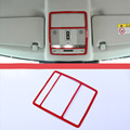 Car Roof Reading Light Decorative Frame Trim For Range Rover Evoque 2016 For Discovery Sport 2015 2016  Car Styling Accessories