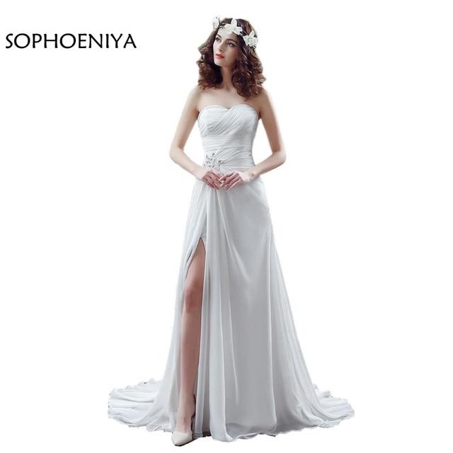 Aliexpress.com : Buy New Arrival Chiffon Beach Wedding dress 2018 ...