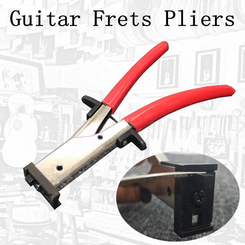 Guitare Frettes Pinces guitare basse Frettes Fil Nipper Extracteur Pinces Coupe-Fil outil de luthier Ciseaux