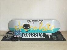 Pro Complete Skateboard Set Chocolate Deck Union Trucks Girl Wheels Element Muska Bearings with Riser Pads