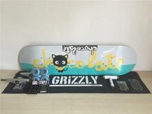 Pro Complete font b Skateboard b font Set Chocolate Deck Union font b Trucks b font