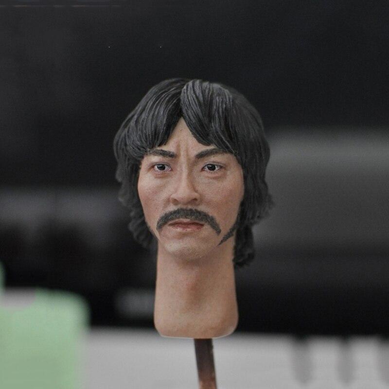 1/6 KM18-16 Head Sculpt Asian People Beard Short Hair for 12 Bodies 1/6 KM18-16 Head Sculpt Asian People Beard Short Hair for 12 Bodies