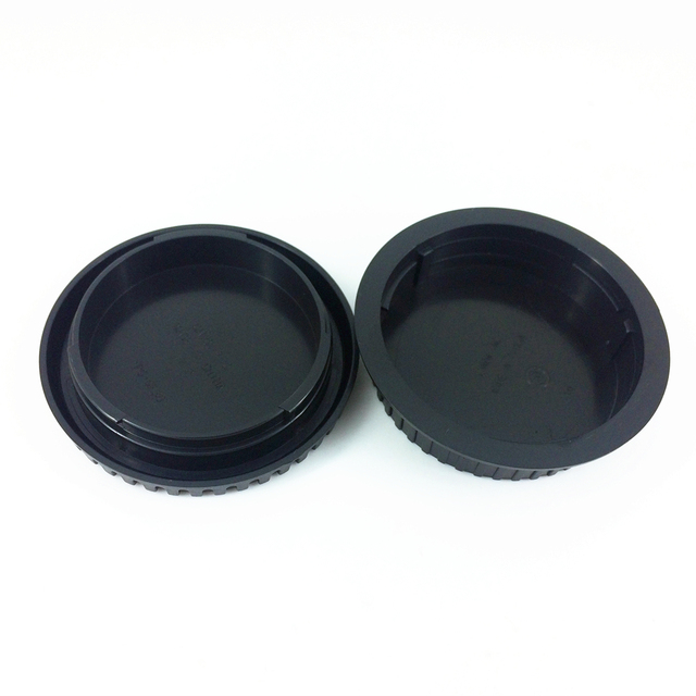 Rear Lens Cap Cover + Camera Front Body Cap for Canon EOS DSLR and EF EF-S Lens PA328
