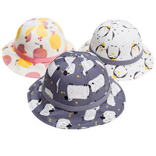 New Cute Baby Girl Hat/Cap Cartoon Muts Cotton Spring Autumn Summer Bucket Hats Kids Boy Hat
