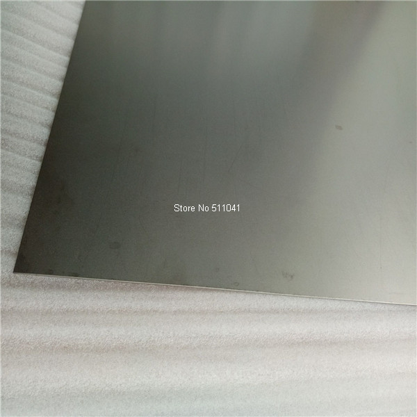 titanium Sheet & Plate Grade 5 With Material Certification 1.5mm (thickness) X 300mm (width) X 300mmL free shipping