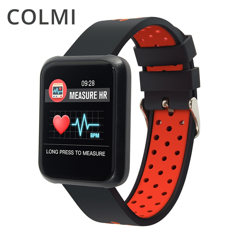 COLMI Sport3 Montre Smart Watch Hommes Sang Pression IP68 Étanche Fitness Tracker Horloge Smartwatch Pour IOS Android Dispositifs Portables