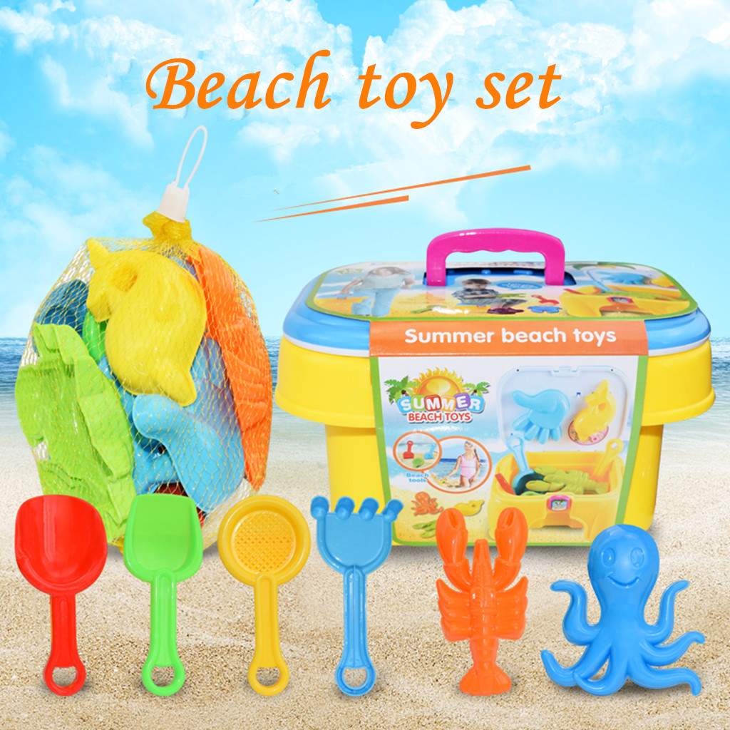 Play Toys Random Color Sand Toys Sets Rake Shovel Play Sand Water Tools For Children Sand Beach Toy For Kids Sandbox K503