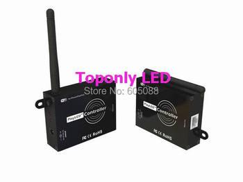 تصميم براءة playled اللاسلكية wifi led rgb المراقب dc5-24v ل الرقمية مطاردة الشريط شرائط يمكن العمل مع ipone/باد/ipod