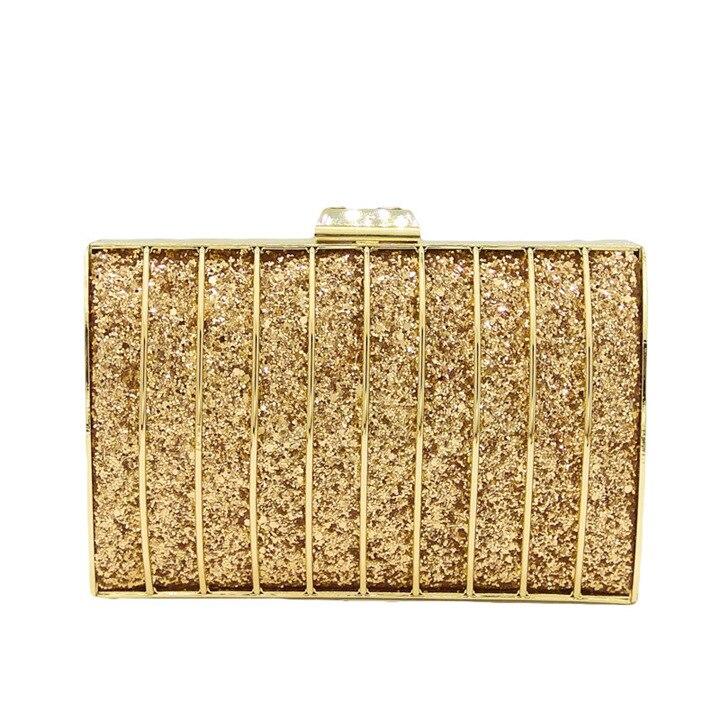 цена Women's Glitter Clutch Bag, Pretty Cute But Spacious Inside, Evening Handbag for Wedding and Party