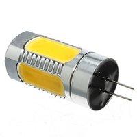 10 יחידות G4 COB 7 W LED מנורת חיסכון באנרגיה לבן חם הנורה מנורת בסיס סיכה