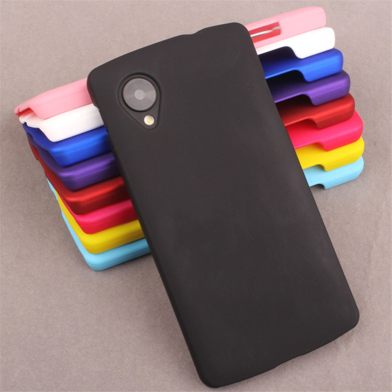 Coque For LG Nexus 5 Case Ultra Thin Matte Frosted Hard PC Plastic Back Cover Case For LG Nexus 5 Protective Phone Cases Fundas image