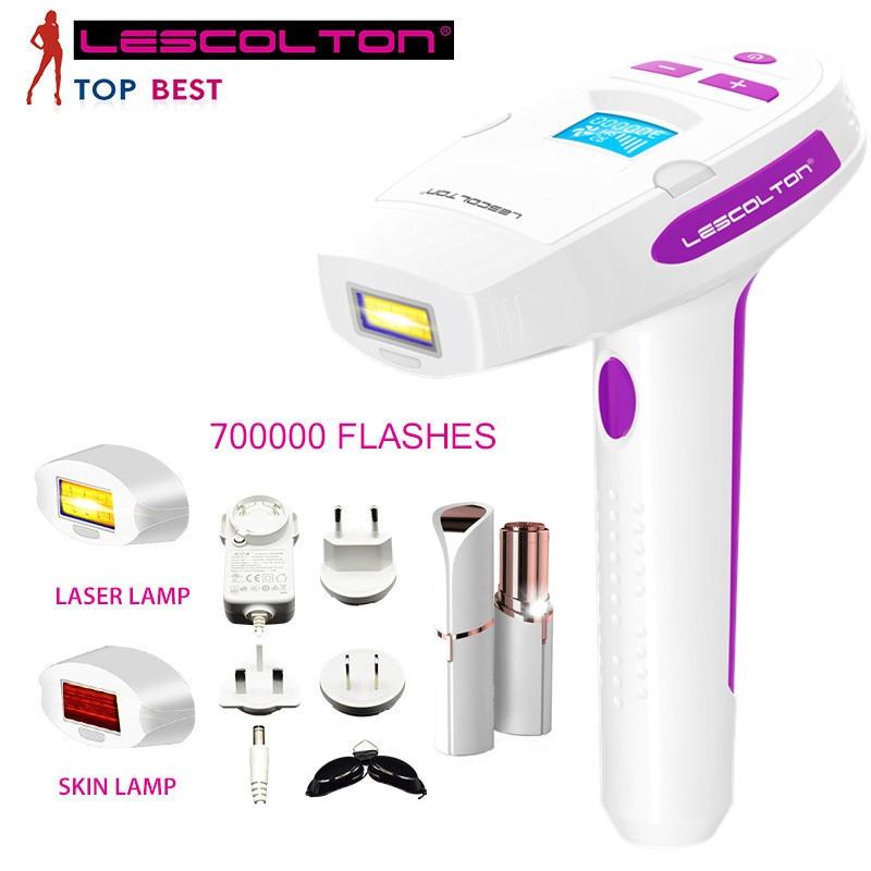 Professional Laser Epilator IPL Hair Removal Armpit Depilador Facial Permanent Hair Removal Machine Bikini Depilador Laser