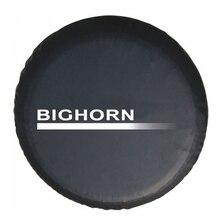 Защитный чехол для шин Isuzu BIGHORN, сверхпрочный кожаный чехол из ПВХ для запасных шин, диаметр шины 27 31 дюйма, 15 дюймов