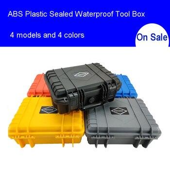 ABS пластик герметичный водонепроницаемый ящик для инструментов Детская безопасность оборудования Toolbox чемодан ударопрочный инструмент че...