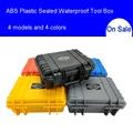ABS Plastic Verzegelde Waterdichte Gereedschapskist Veiligheid Apparatuur Toolbox Koffer Slagvast Tool Case Shockproof met Schuim