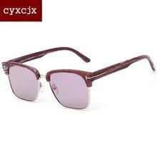2017 mujeres Clásicas Gafas de Sol de Diseñador de la Marca de gafas de sol mujer gafas de Sol Unisex Medio Marco gafas de Sol de los hombres
