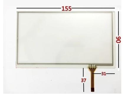 Analytisch 155*90 6.5-inch Touch Screen Weerstand Levert Kosteloos Wees Nieuw In Ontwerp