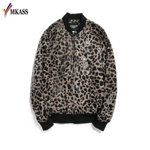 25e36dc04 Buy leopard bomber jacket for men and get free shipping on ...