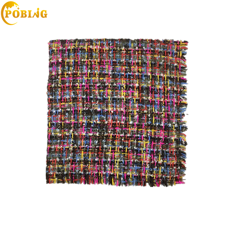 POBING Luxury Brand Cashmere   Scarf   Women Colorful Tartan Plaid   Scarves   Shawl   Wraps   Warm Winter Blanket Pashmina Lady Cape Stoles