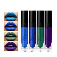 Qibest 12 Colors Set Lipgloss Lip Matte Liquid Lipstick Waterproof Not Fade Lip Gloss Long Lasting