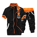 high quality fashion summer casual slim fit youths mens tracksuit set  suit M-5XL JPYG29