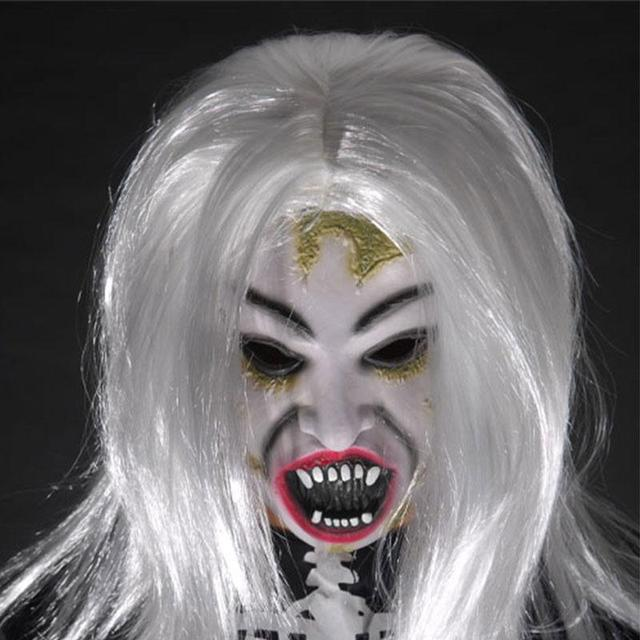Aliexpress.com : Buy Halloween Mask Horrible Creepy Toothy Ghost ...
