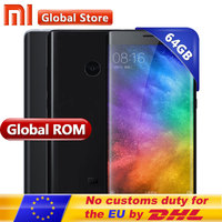 Original Xiaomi Mi Note 2 4GB 64GB Mobile Phone Snapdragon S821 Quad Core 5.7inch FHD Fingerprint ID MIUI 8