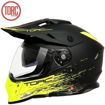 TORC Full Face DOT ECE Flip Up Racing Off-Road Motorcycle Helmet