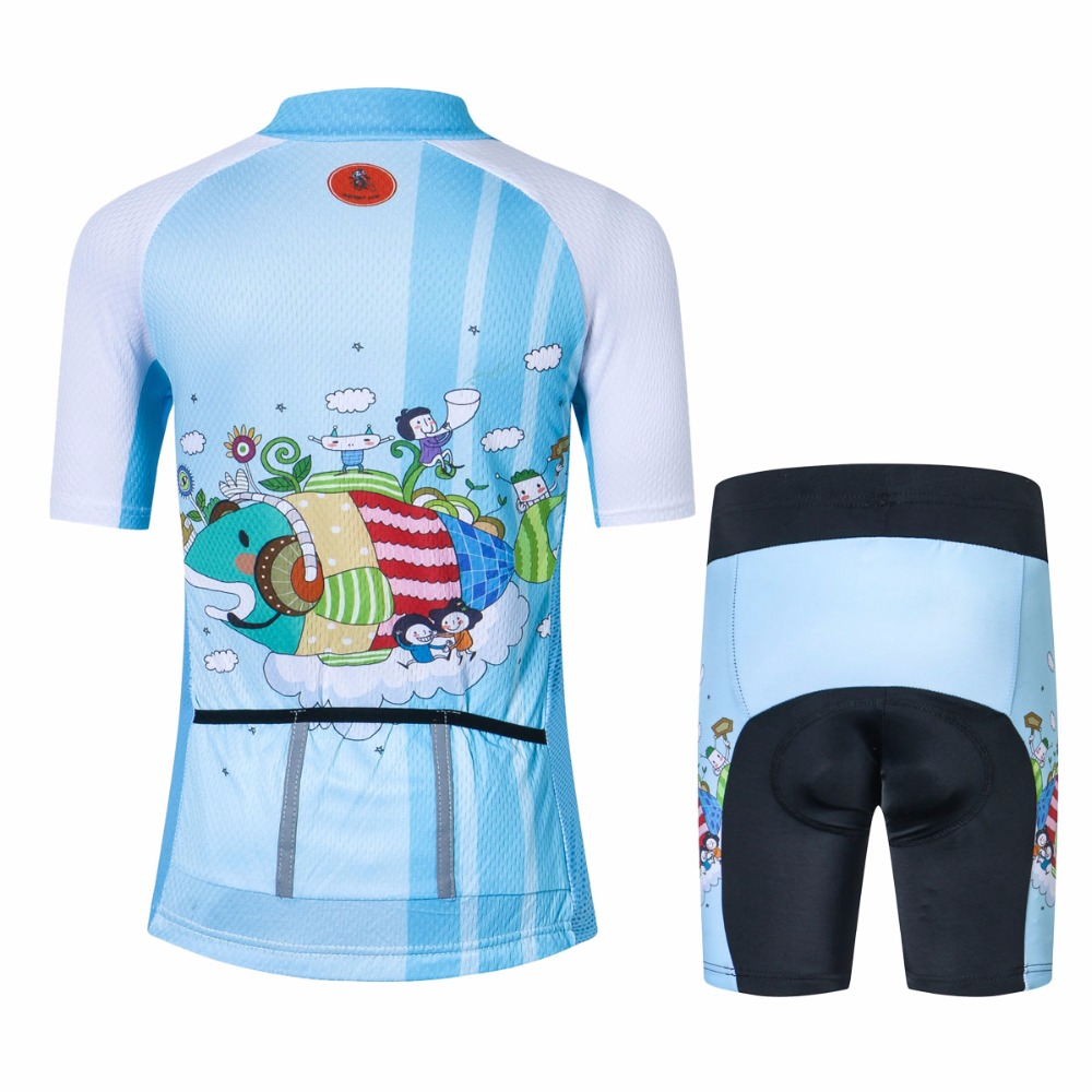 Children Cycling Jersey Bike Cycling Clothing Girl Boy Bicycle Short Sleeve  Jersey For Kids Cute cartoon Fish-in Cycling Sets from Sports    Entertainment on ... e98fb260f