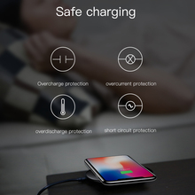 Baseus 10W Qi Wireless Charger for iPhone X 8 Samsung Note 8 S8 S7 S6 Edge