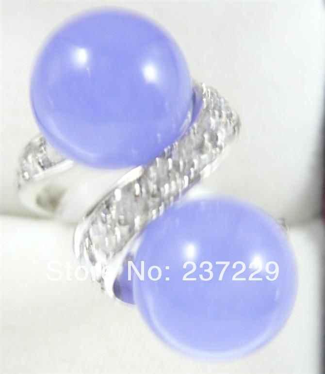 จัดส่งฟรี>>>@@ขายส่งราคาS ^^^^หยกสีม่วงสวยแหวนผู้หญิง7 #8 #9 #