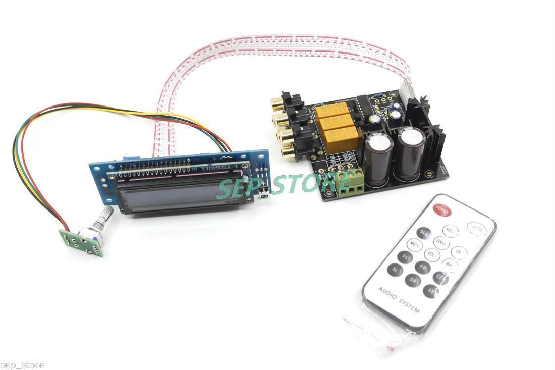 Mise à niveau assemblée carte de préamplificateur de contrôleur de Volume à distance Stero PGA2311