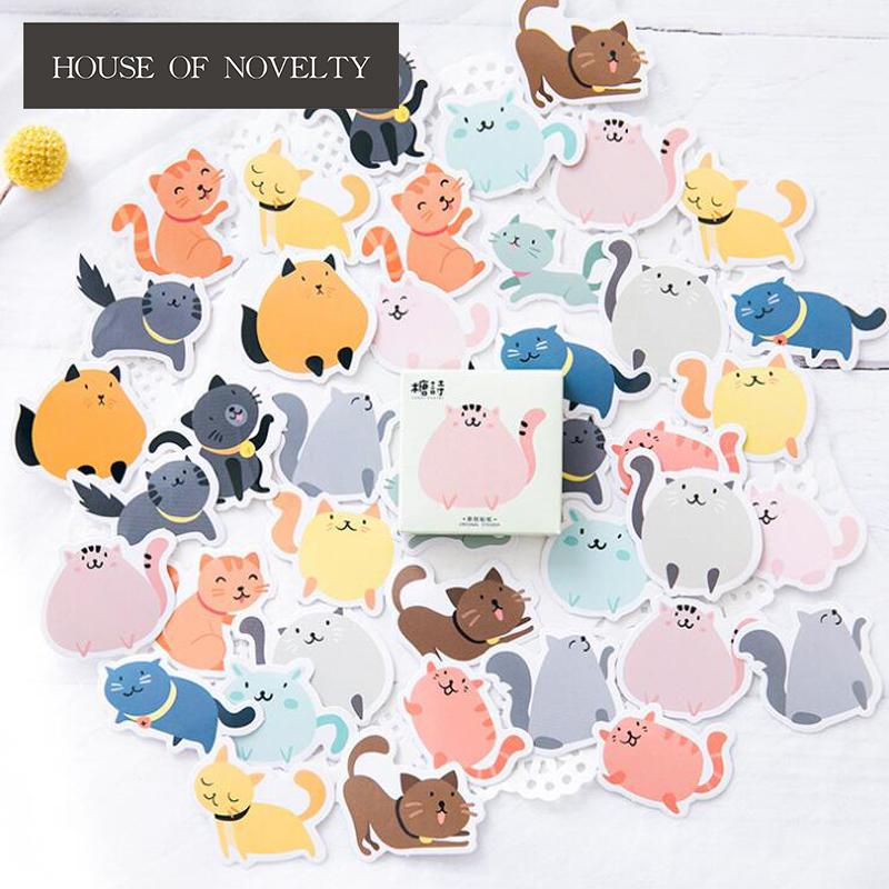 Kingdom Cat Decorative Stickers Adhesive Stickers DIY Decoration Diary Stickers Box Package