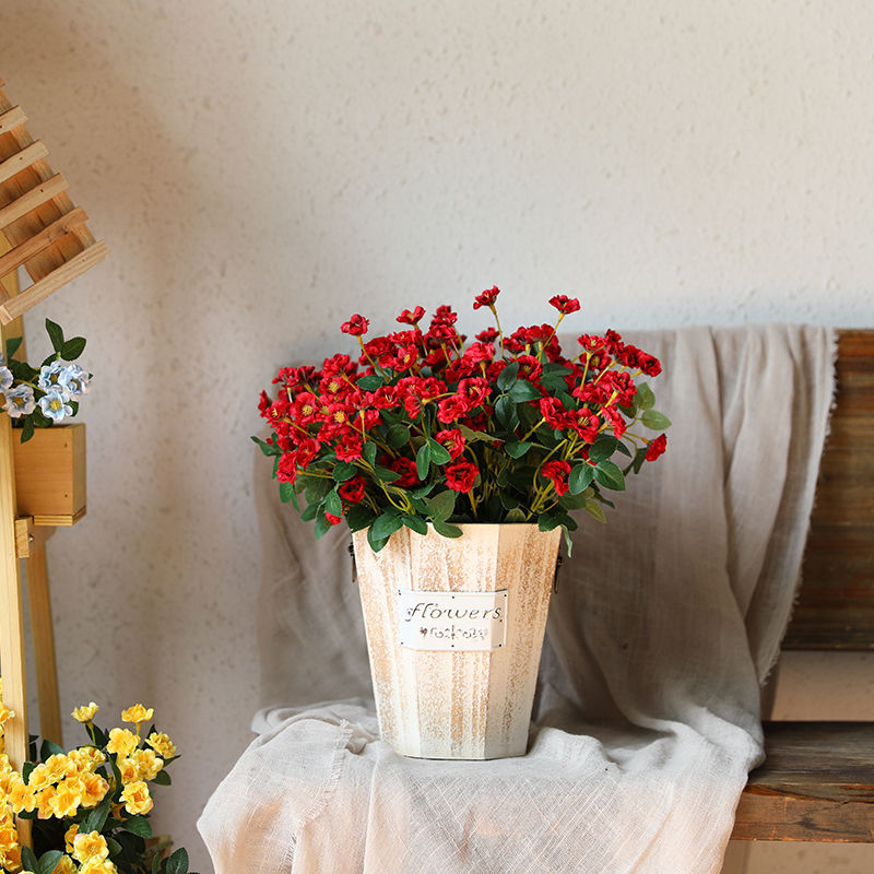 xuanxiaotong Fresh Small Wild Flowers Artificial for Party Room Decor Fake Home Decoration flores artificiales