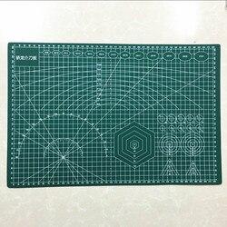 Коврик для резки из ПВХ A3 45*30 см прочный бумагорез ручной работы DIY лоскутное аксессуары гибкий зеленого цветов в мозаичном стиле коврик для ...