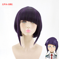 LIVA GIRL Kyoka Jiro Cosplay Wig My Hero Academy Costume Play Wigs Halloween Costumes Hair Free