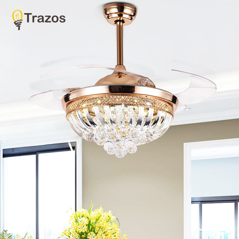 Trazos modern ceiling fans rose gold remote control abs - Bedroom ceiling fans with remote control ...