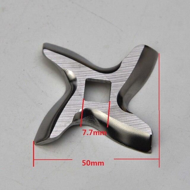 3 piezas de cuchillo para picadora de carne cuchilla picadora MDP-07B piezas de repuesto para algunos tipos de Moulinex Tefal