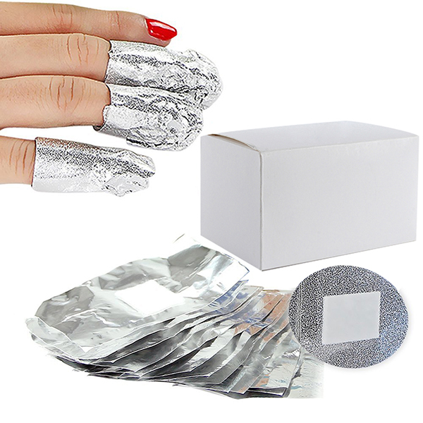 Aliexpress New 100pcs Aluminium Foil Nail Art Soak Off Gel Polish Remover Cleaner Wraps Cy From Reliable Suppliers On If You